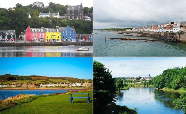 Some of the prettiest villages in Scotland.