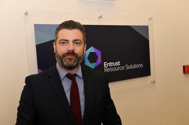 Austin Clark, chief commercial director, Entrust Resource Solutions.