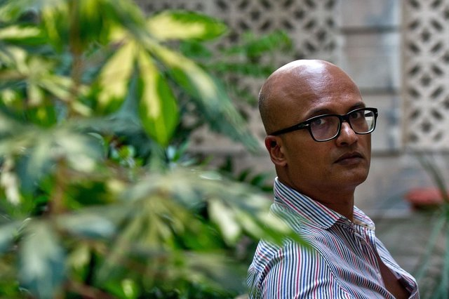 Jeet Thayil PIC: Manan Vatsyayana/AFP via Getty Images