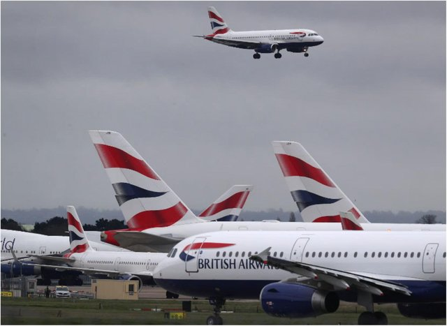 British Airways has cancelled all flights from Gatwick airport