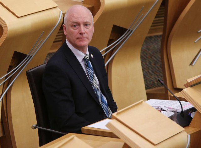 SNP minister Joe FitzPatrick wanted the 2016 Lobbying Register to be 'open and transparent' (Picture: Fraser Bremner/Getty Images)
