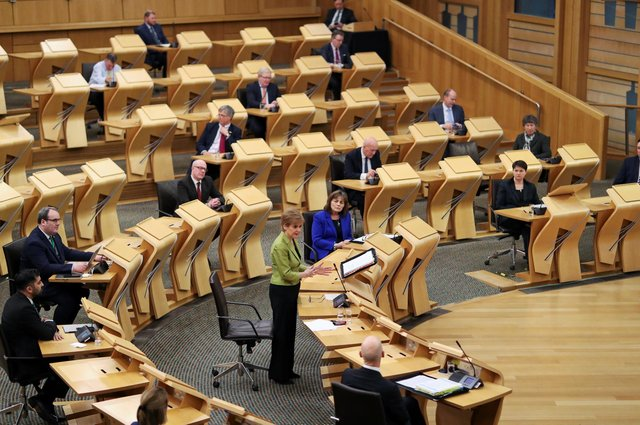 Holyrood has no second chamber