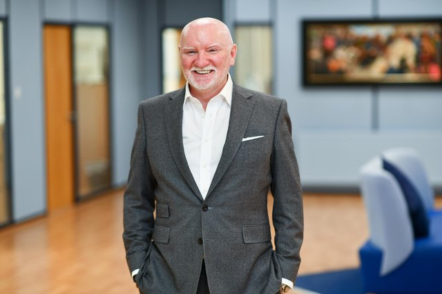 Sir Tom Hunter: 'Start-ups are good, but scale-ups are great - they move the economic dial.'