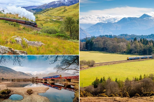 Some of the views you can enjoy from Scotland's scenic railways.