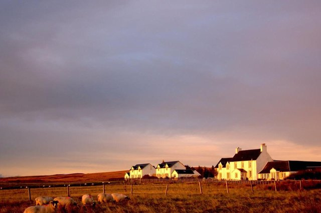 Emma Clark of Glenegedale House in Islay said some islands were losing £2 million a week in bookings. Picture: Glenegedale House