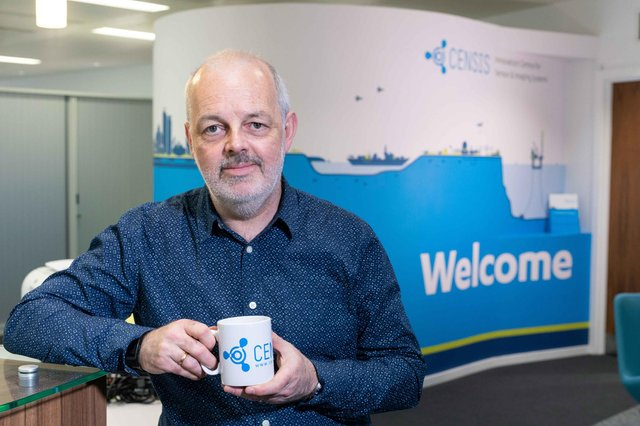 Paul Winstanley says the record number of new projects taken on by the CENSIS centre is a positive sign for the Scottish economy as it recovers from the pandemic.