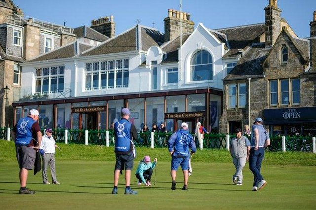 Managing the Old Course is one of the main responsibilities of the chief executive of St Andrews Links Trust. Picture: Kevin Kirk.