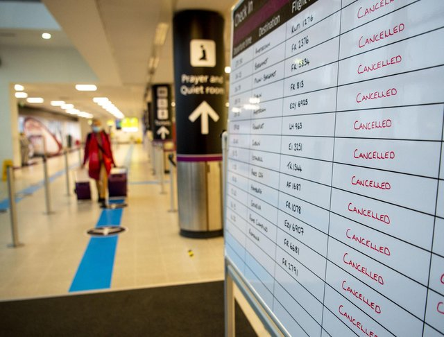 Cancelled flights and holiday bookings during the pandemic have left many Scots feeling less trustworthy of the travel industry.  Picture: JPIMedia