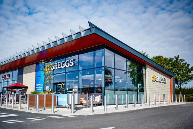 Greggs has been opening more outlets in retail parks as the pandemic has hit footfall on high streets. Picture: contributed.