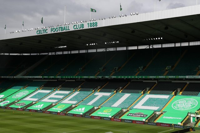 Celtic will have 2000 fans this weekend, then 9000 next week. Photo by Andrew Milligan/Pool via Getty Images)