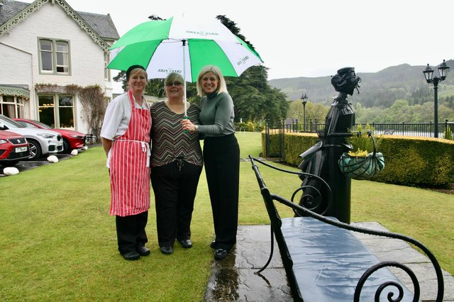 Staff at The Green Park Hotel said that being ranked Scotland's top hotel on the travel platform is 'icing on the cake' after previous successes.