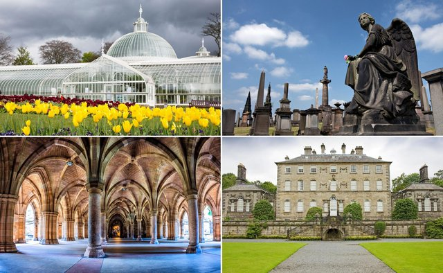 A few of the fun things you can see and experience on a day out in Glasgow.