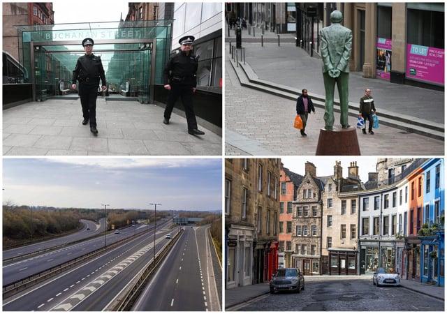 29 eerie photos of Scotland's empty streets as lockdown begins | The  Scotsman