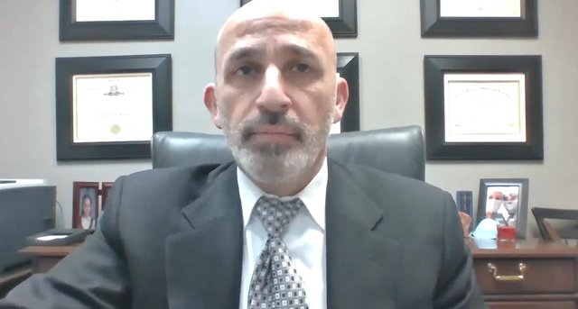 Dr Dionysios Veronikis gave evidence to MSPs.