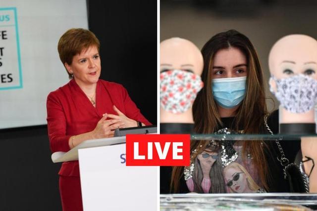 Live updates on coronavirus in Scotland, the UK, and around the world.