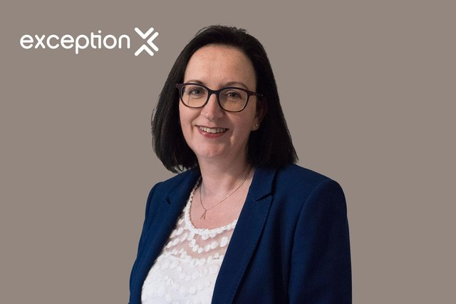 Alison McLaughlin recently joined the Scottish tech company Exception as its new sales director, having moved from her role as head of digital transformation at the Scottish Government.