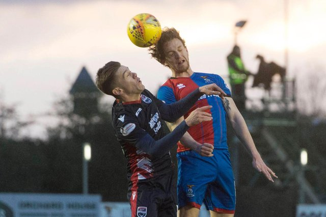 Ross County and Inverness go head-to-head in the Scottish Cup.