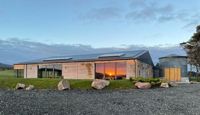 The new venue at Cairns Farm estate was a former sheep shed.