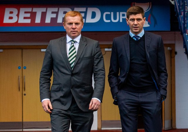 Steven Gerrard and Neil Lennon could be active befre the transfer window closes. Picture: SNS
