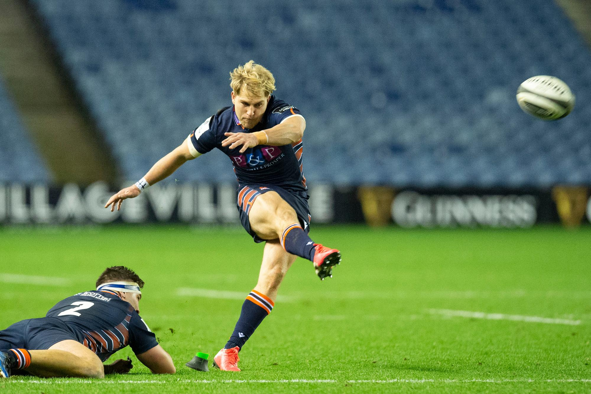 Duncan Weir welcomes the likely addition of Jaco van der Walt to the Scotland squad