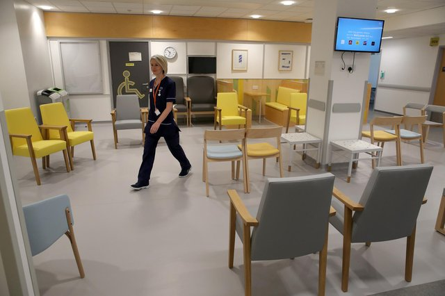 NHS Lothian said ward staff have been drafted in to contact the relatives of patients, who had previously been identified as designated visitors, to inform them of the new ban.