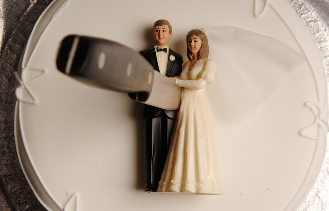 Business can really suffer in a divorce when the husband and wife each have a 50per centstake