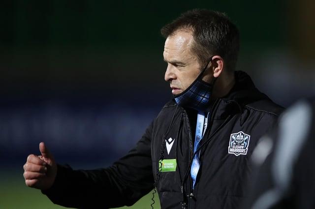 Glasgow Warriors head Coach Danny Wilson.