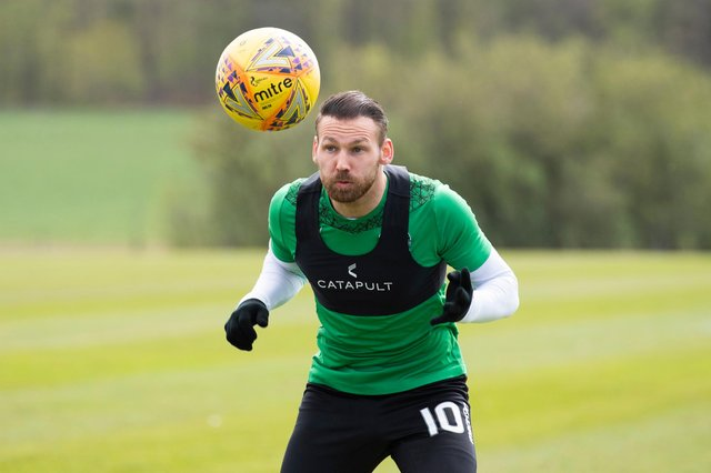 Martin Boyle has been in excellent form for Hibs this season. Picture: SNS