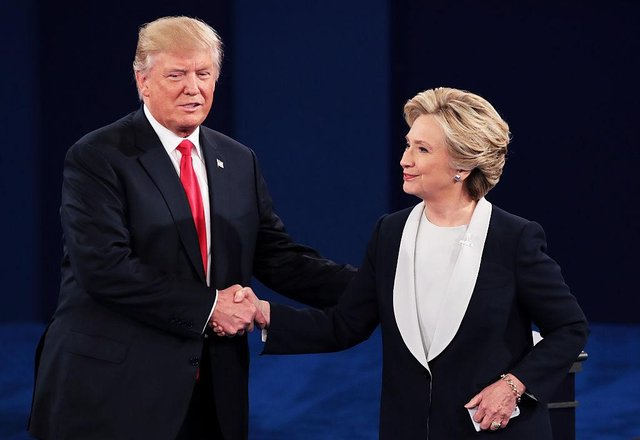 Trump and Clinton fought out a bitter election campaign in 2016 (Getty Images)