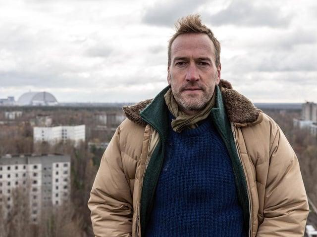 Бен Фогель відвідав Україну в документальному фільмі для 5-го каналу