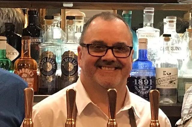 Robert Shepherd, Licensee, Thistle Street Bar