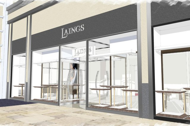 The first in a series of transformations will be unveiled this autumn with work already underway to treble the size of the Scottish jewellery and watch chain's Cardiff showroom.