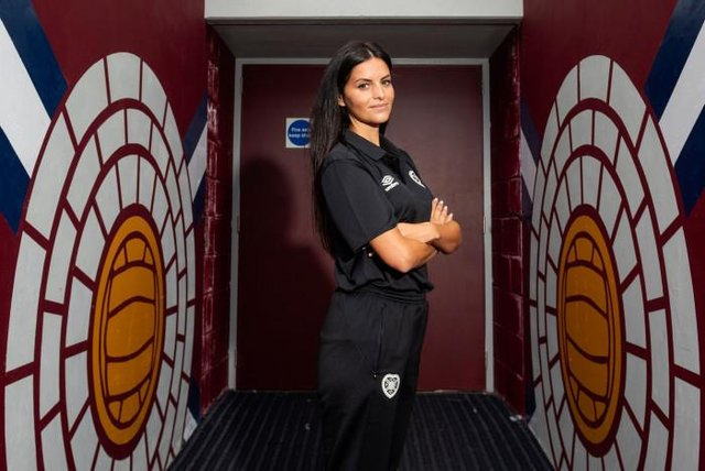 Eva Olid is the new manager of the Hearts Women's team. (Photo by Mark Scates / SNS Group)