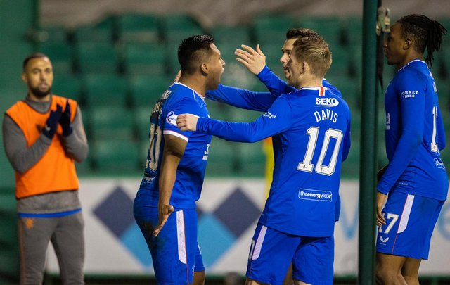 How the Rangers players fared in the win against Hibs. Picture: SNS