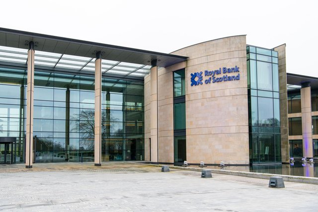 NatWest-owned Royal Bank of Scotland has its headquarters and conference facilities at Gogarburn in Edinburgh. Picture: Ian Georgeson