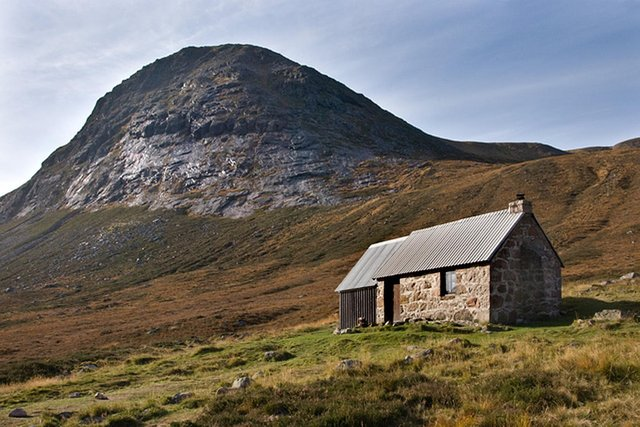 Corrour Bothy in Cairngorms National Park. Those who love Scotland's 'wild and lonely' places are being urged to stay away from the shelters for now. PIC: Nigel Corby/CC.