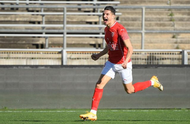 Nimes midfielder Zinedine Ferhat has been in excellent form this season despite his side's struggles. Picture: Getty