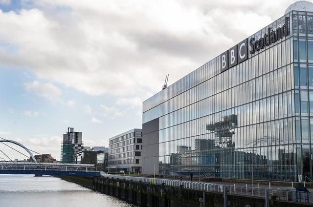 BBC Scotland's headquarters at Pacific Quay in Glasgow (Picture: John Devlin)