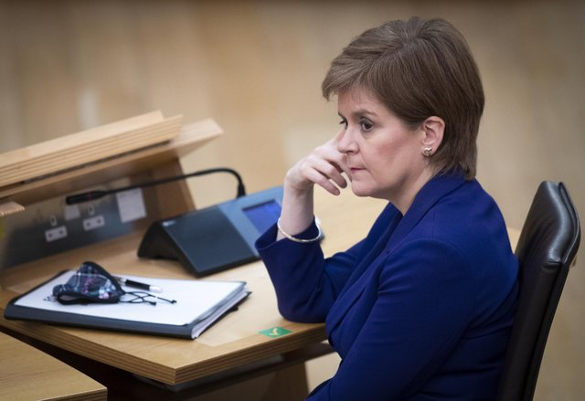 First Minister Nicola Sturgeon was challenged on why she did not listen to senior counsel's warnings on the judicial review