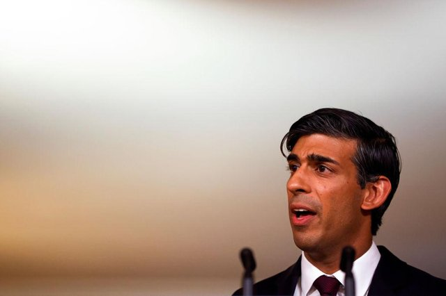 Rishi Sunak extended the furlough scheme fo ra fourth time in December (Getty Images)