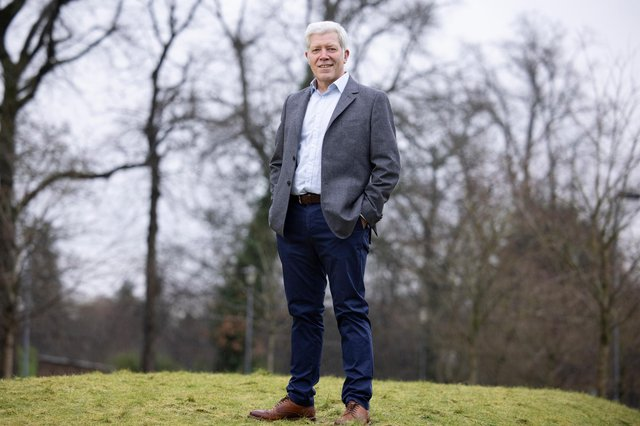 Pioneering biotechnology firm Horizon Proteins' chief executive Iain Lochhead. Picture: Martin Shields