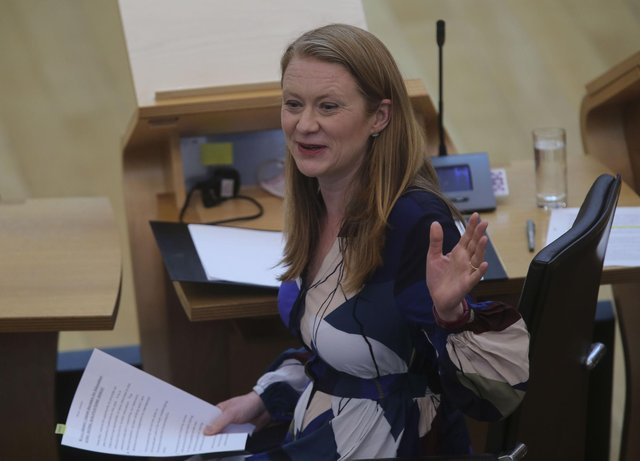 Education Secretary Shirley-Anne Somerville said she has full confidence in the SQA