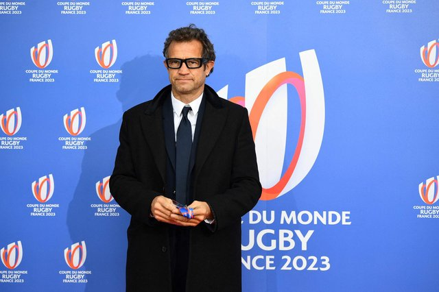 France head coach Fabien Galthie left the team bubble to watch his son play rugby. Picture: AFP via Getty Images