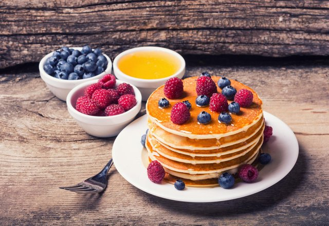 There are plenty of sweet and savoury topping ideas to try for Pancake Day.  Photo: Shutterstock
