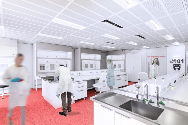 The Centre for Targeted Protein Degradation (CeTPD) will be housed at the Technopole site adjacent to the University of Dundee's School of Life Sciences.