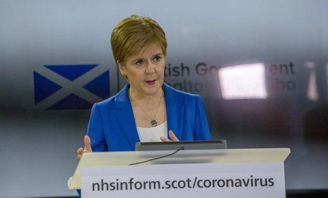 Nicola Sturgeon to give unscheduled coronavirus briefing on Tuesday at midday.