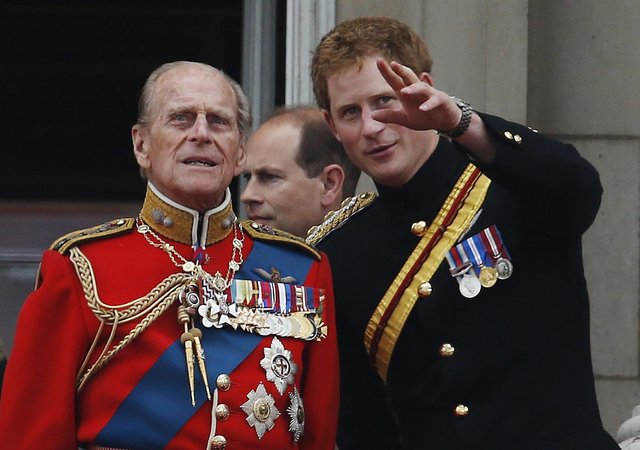 Prince Harry pays tribute to his grandfather Prince Philip.