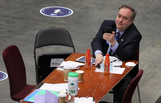 Did the Alba Party, led by former first minister Alex Salmond, have any impact on the final results?