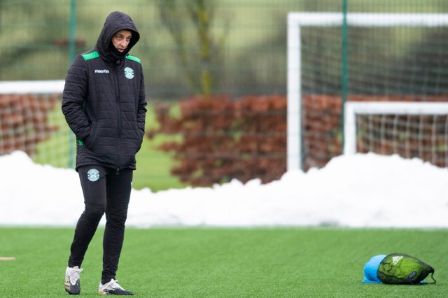 Hibs manager Jack Ross has been forced to play the transfer waiting game. Photo by Mark Scates / SNS Group