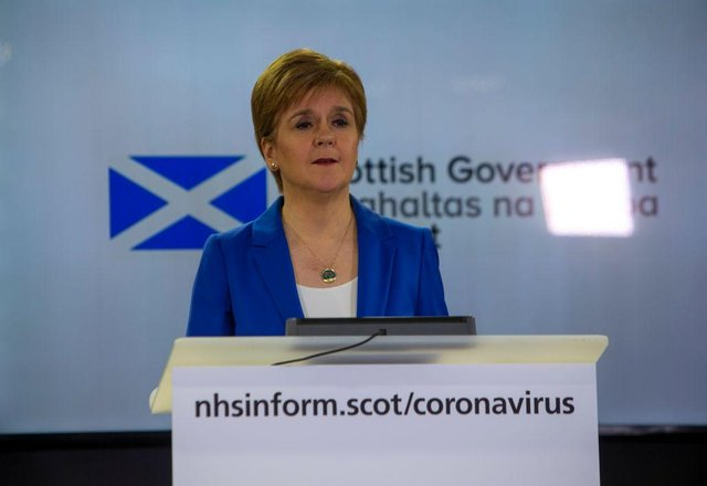 The Scottish government will hold a review of current restrictions every three weeks